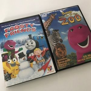 Other - 2 Barney DVD